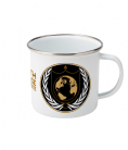 Earth Defence Directorate Enamel Mug Inspired by Buck Rogers in the 25th Century